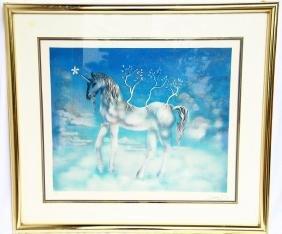"""Salvador Dali (1904-1989) """"cheval Allegre"""""""