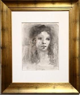 """Leonor Fini(argentine; 1907– 1996) """"portrait"""""""