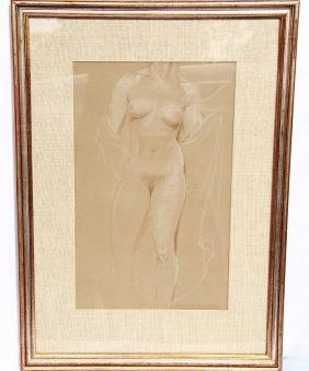 Harriet Frishmuth (1880-1980) Original Drawing