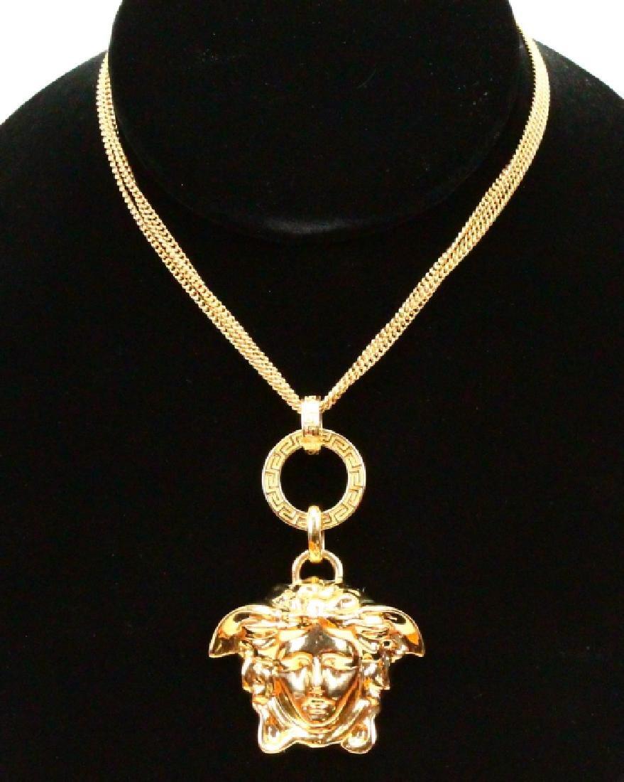 "Versace Medusa Head 19"" Necklace Brand New"