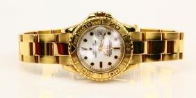 Rolex 1996 Yacht-master Solid 18k Ladies Watch