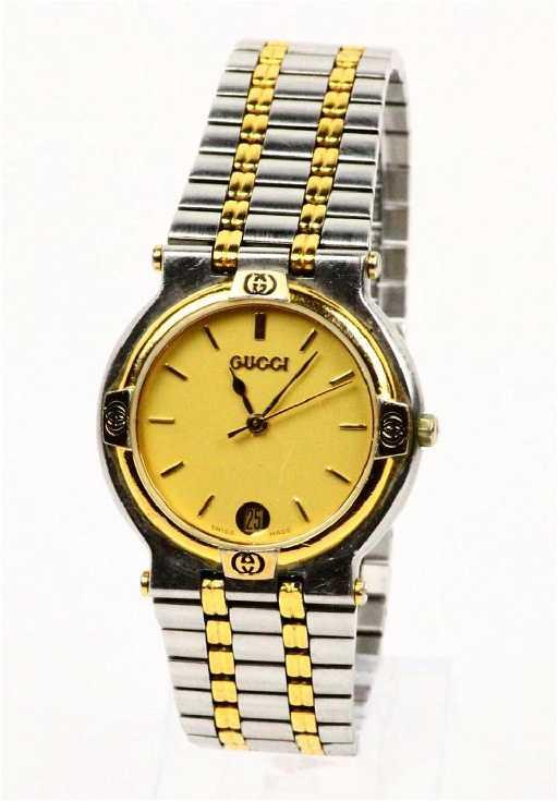 1cc9e0095da Gucci Vintage Ladies SS 9000M Wrist Watch