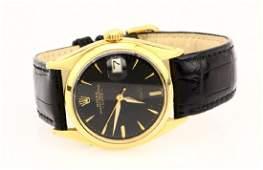 Rolex 1946 Oyster Perpetual Date 18K 34mm Watch