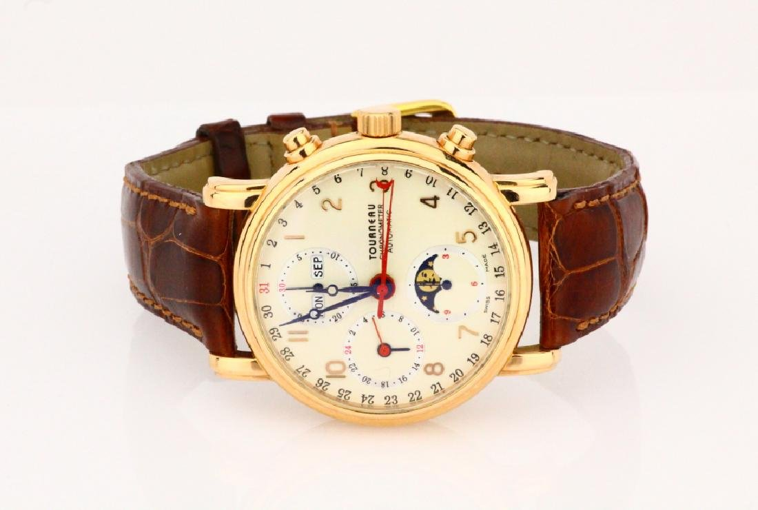 Tourneau Classic Chronometer 18K 38mm Men's Watch