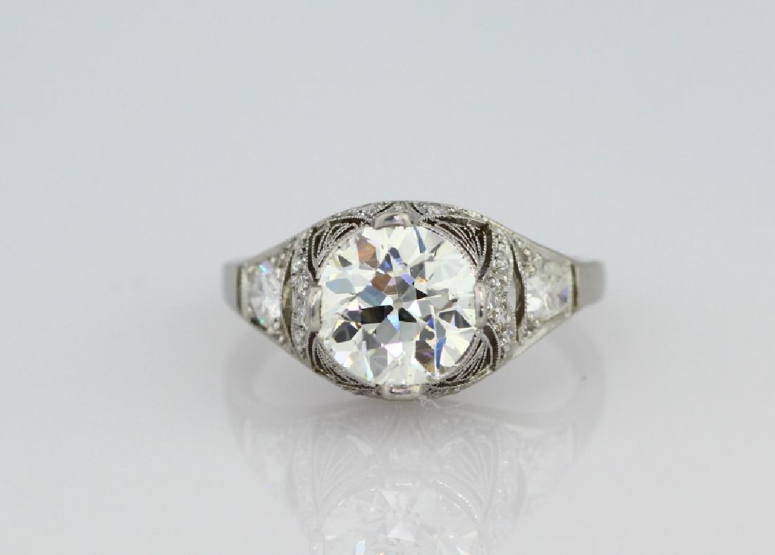 2.20ct GIA VS2/K Diamond in Platinum Setting