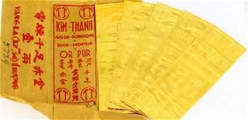 Kim-Thanh (5) Vietnamese .9999 Pure Gold Bars
