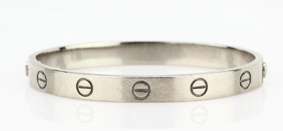 Cartier 18K Love Bracelet W/Screwdriver in Pouch - 3
