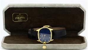 Patek Philippe 18K Ellipse Watch W/Original Band