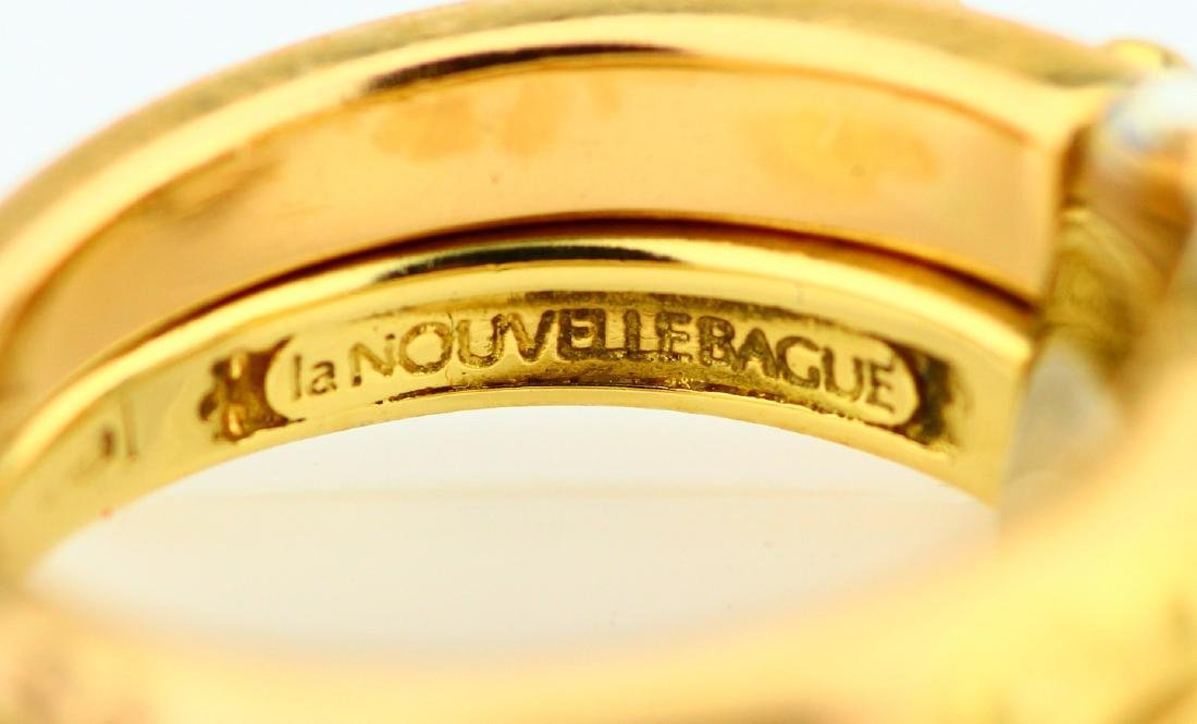 La Nouvelle Bague 18K Double Stacked Ring - 5