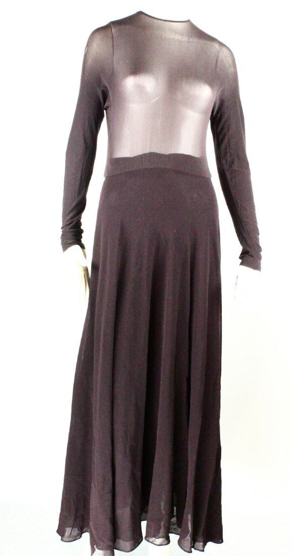 Barbra Streisand Personal Custom Donna Karan Gown