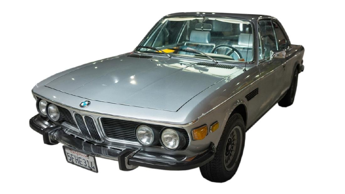 Hugh Hefner's 1973 BMW CS Silver Coupe