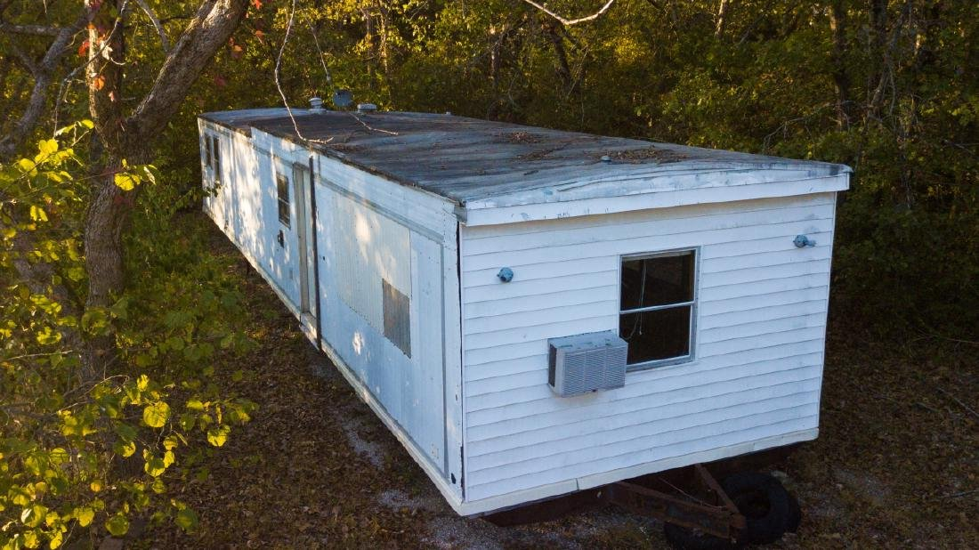 Elvis Presley's Mobile Home From Circle G Ranch