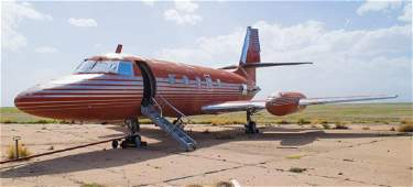 Elvis Presley's Lockheed Jetstar Jet W/FAA Papers