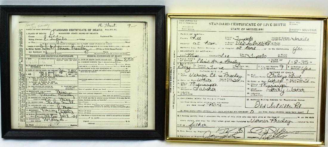Elvis Presley Birth/De...