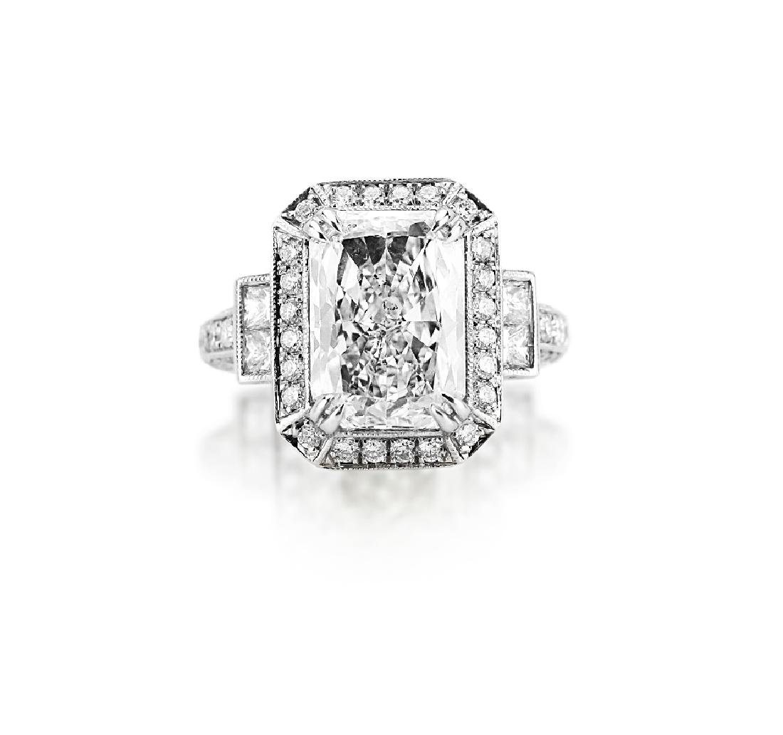 5.14ct GIA SI2/M Diamond in Platinum Setting