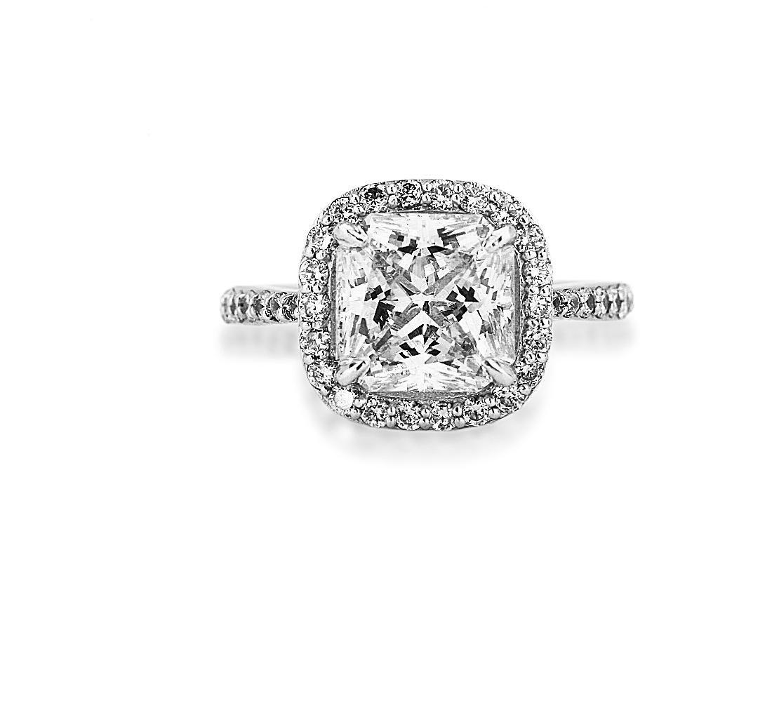 5.25ct VS1/K Diamond Solitaire 14K Ring