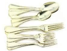 Christofle France Sterling Silver Flatware