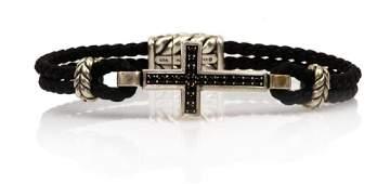 David Yurman Black Diamond Dual Cord Bracelet