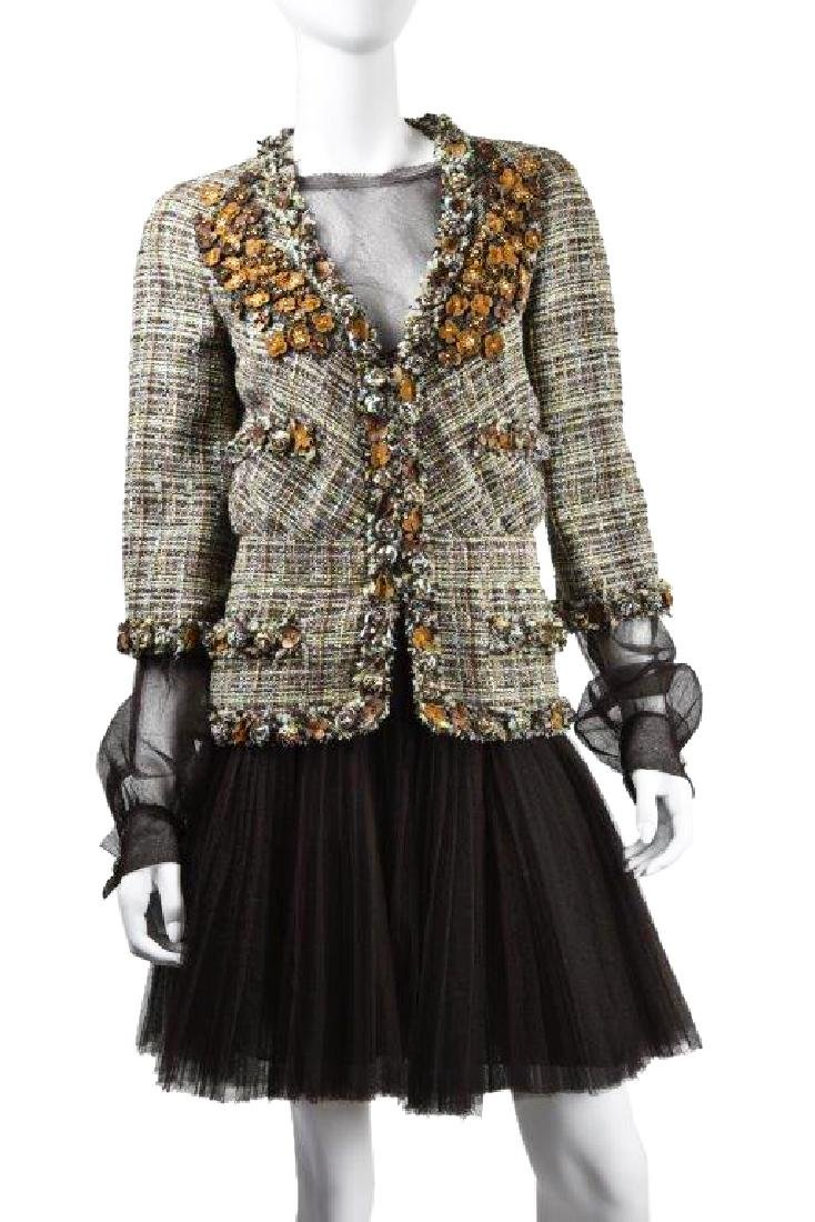 Chanel Demi Couture 2007A Tweed Jacket & Dress