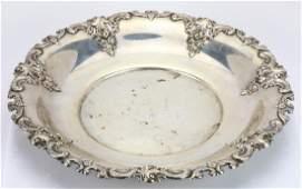 Wallace Grande Baroque Sterling Silver 11 Tray