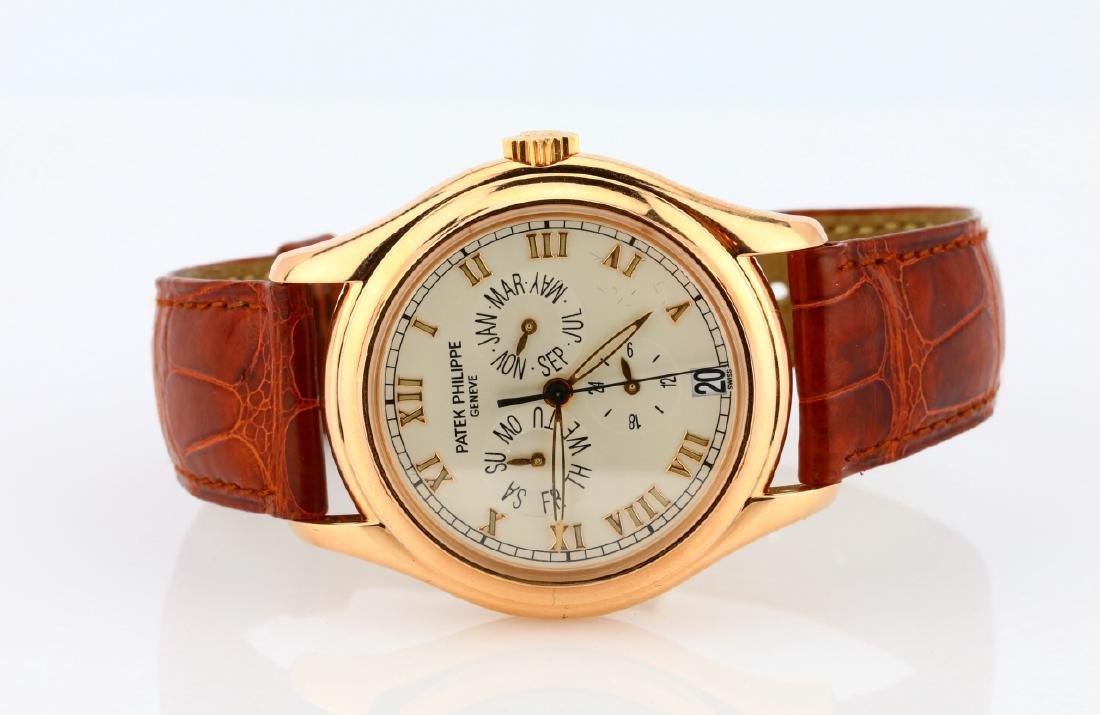 Patek Philippe 18K Annual Calendar Watch in Box