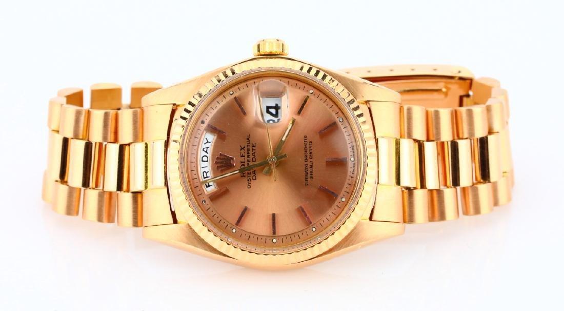 Rolex Day Date President 18K Rose Gold Watch