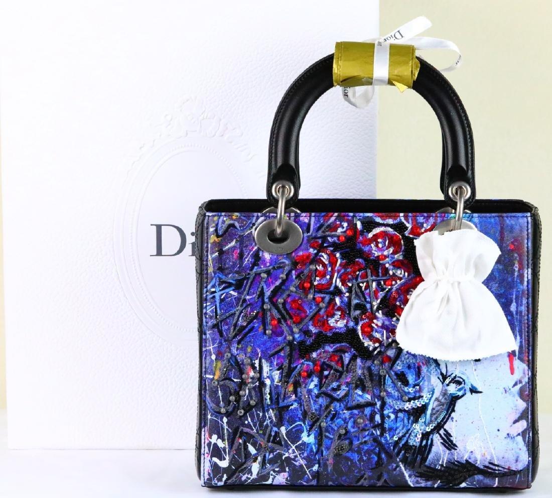 Dior Lady Medium Bag by Betty Mariani (1 of 5) NIB