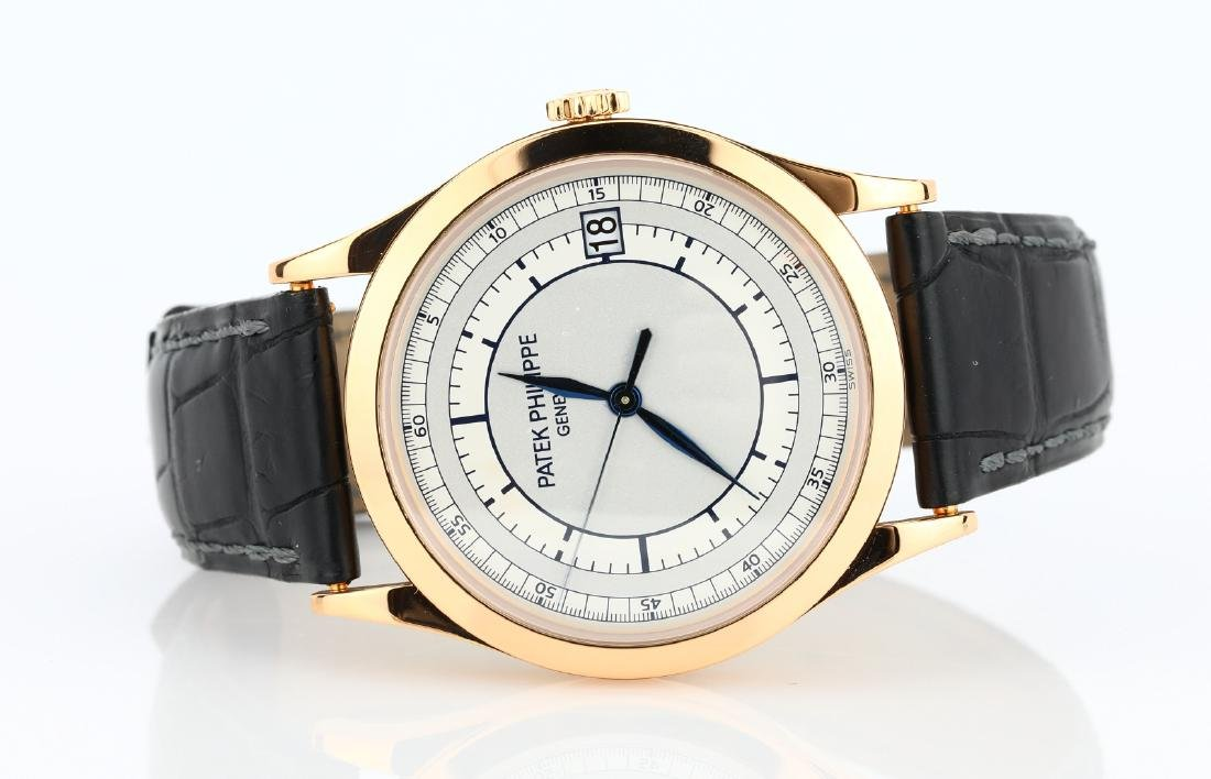 Patek Philippe 18K Calatrava 38mm Men's Watch NIB