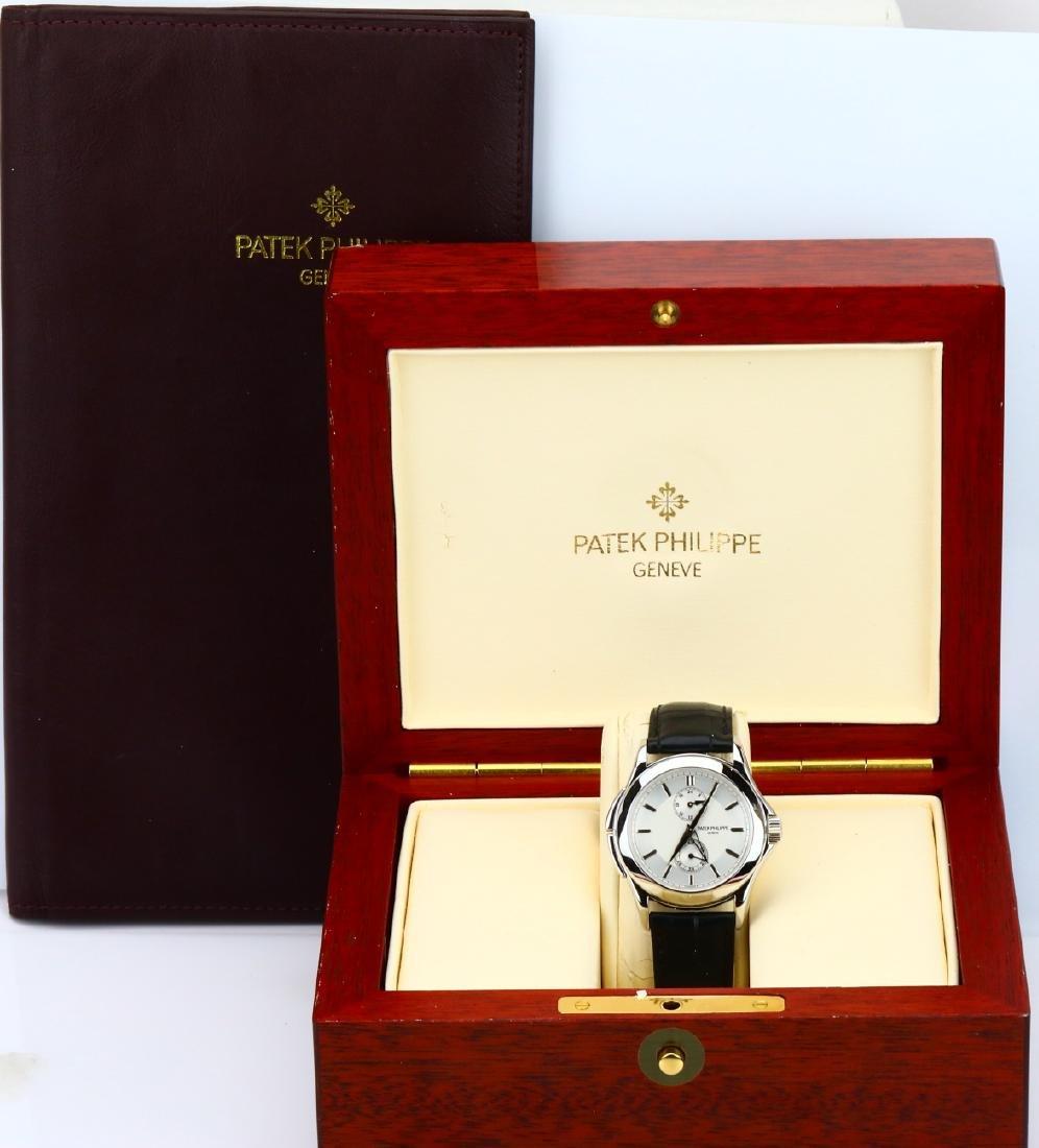Patek Philippe Calatrava Travel Platinum Watch