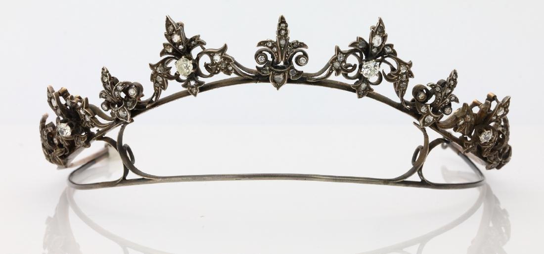 Vietnamese 5.50ctw Diamond Silver Princess Tiara