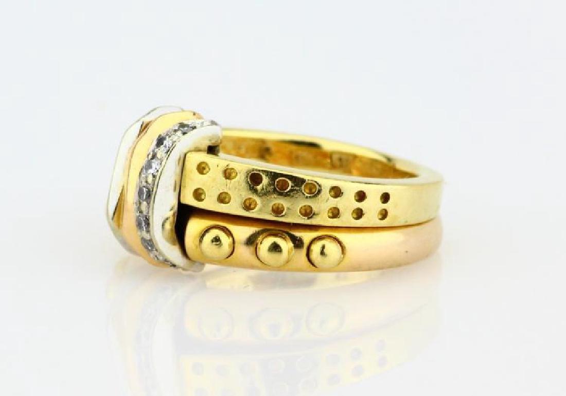 La Nouvelle Bague 18K Double Stacked Ring - 2