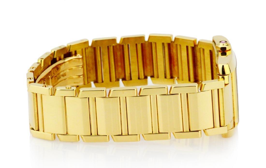 Cartier Tank Francaise 18K Watch in Original Box - 4
