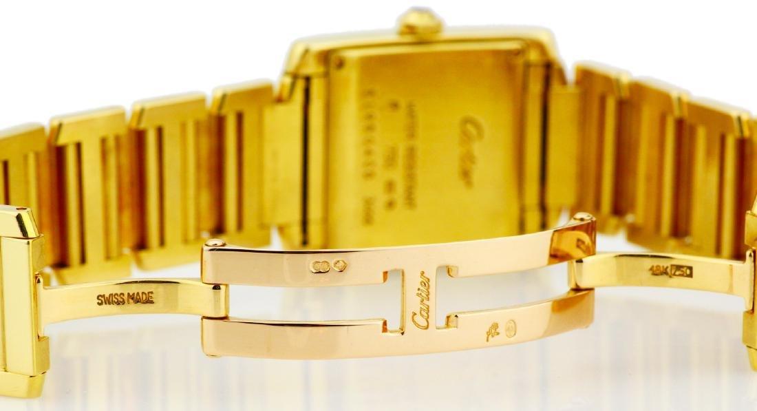 Cartier Tank Francaise 18K Watch in Original Box - 6