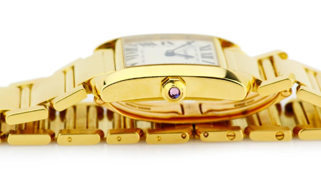 Cartier Tank Francaise 18K Watch in Original Box - 8