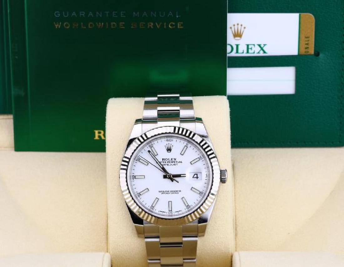 Rolex Oyster Perpetual Datejust 41mm 18K/SS Watch