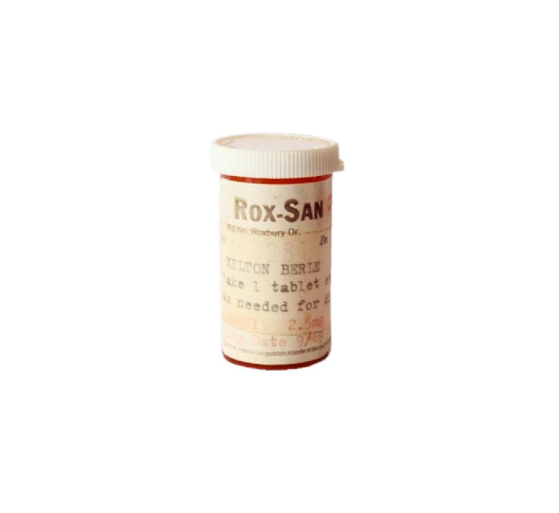Milton Berle's Personal Prescription Pill Bottle