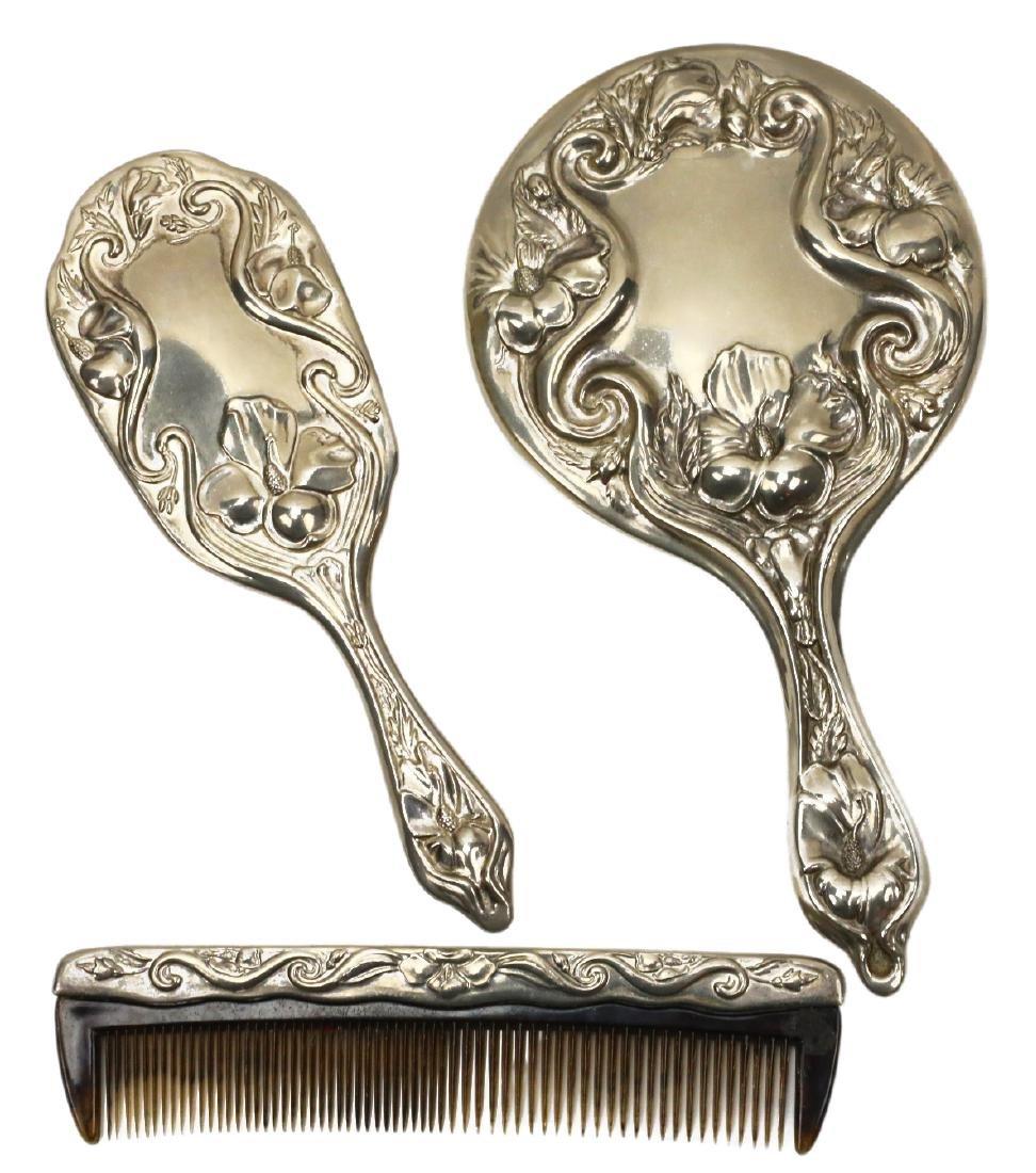 Marilyn Monroe/Allan Snyder Brush, Comb, & Mirror