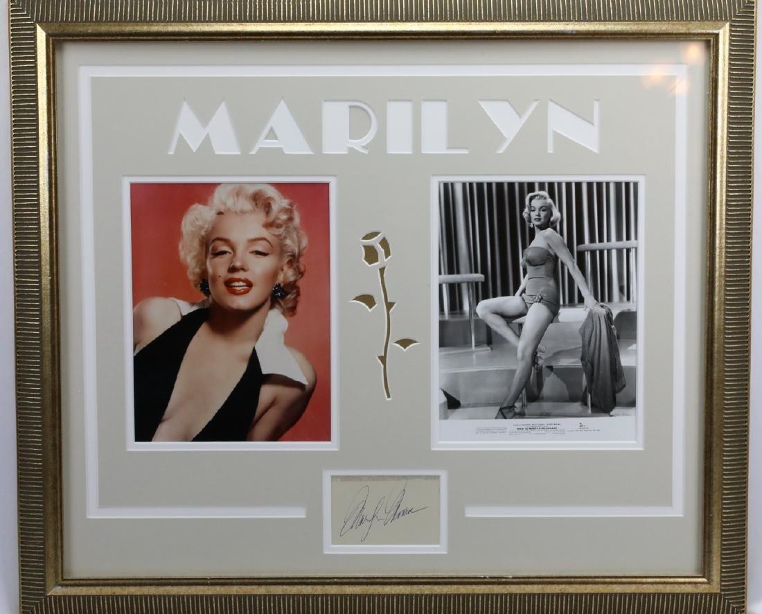 Marilyn Monroe Autograph W/Photographs & COA