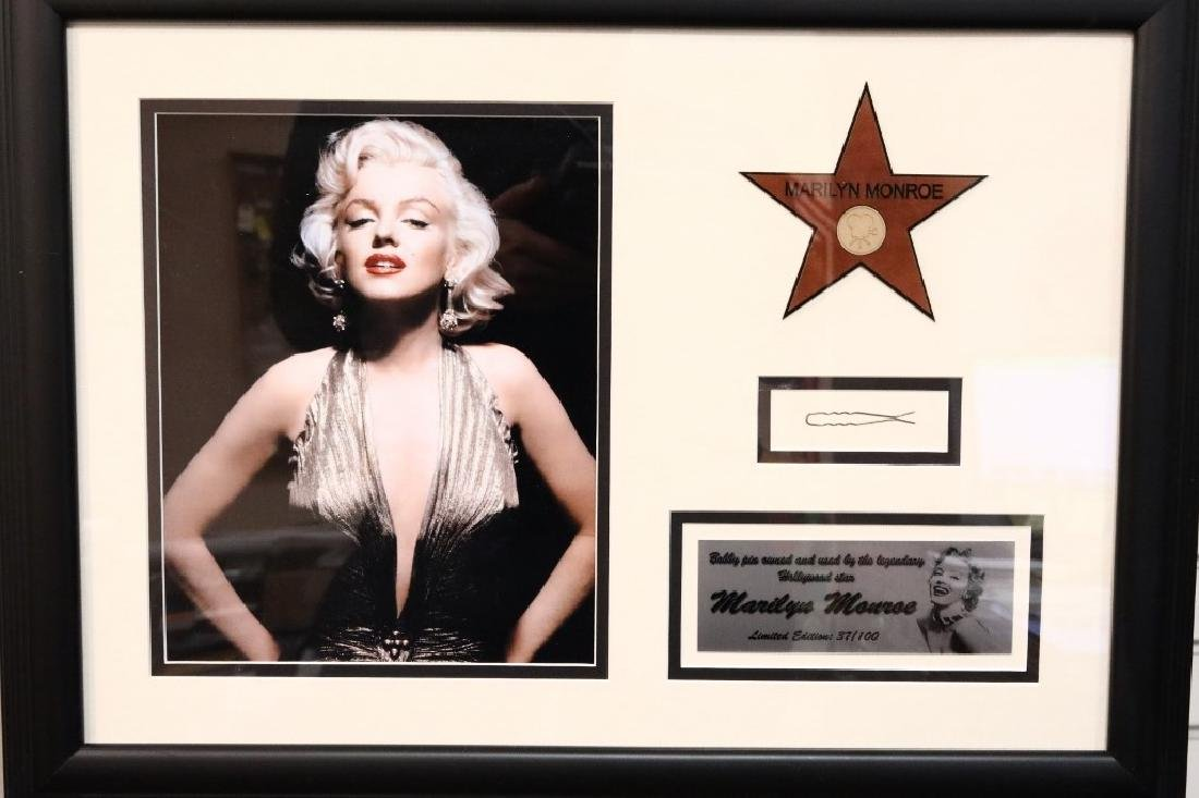 Marilyn Monroe's Hair Pin in Presentation W/COA