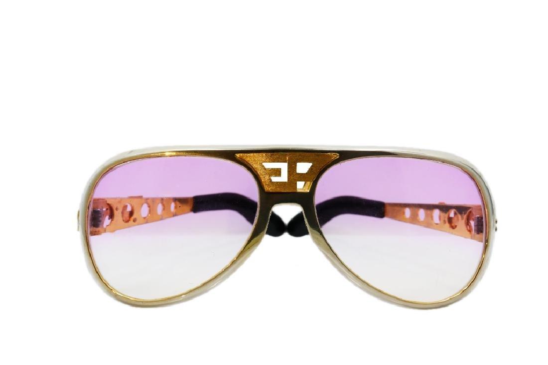 """Elvis Presley's """"Last Vacation"""" Custom Sunglasses"""