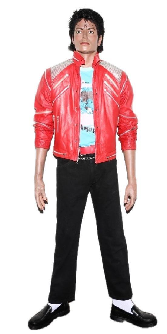 "Michael Jackson Life-Size ""Beat It"" Statue"
