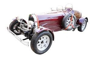 Magnum, P.I. 1927 Bugatti Replica W/Key Fob