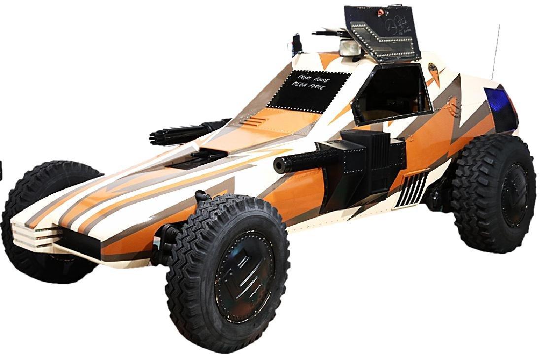 """MegaForce"" (1982) Fast Attack Vehicle W/COA"
