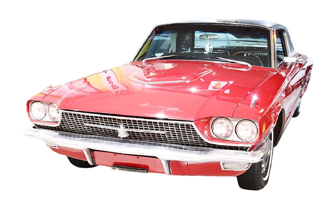 Dean Martin's Red 1966 Ford Thunderbird