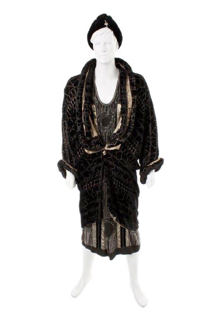 "Patrick Swayze ""To Wong Foo"" Evening Coat & Dress"