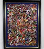 Michael Jackson Painting by Zura WCOA