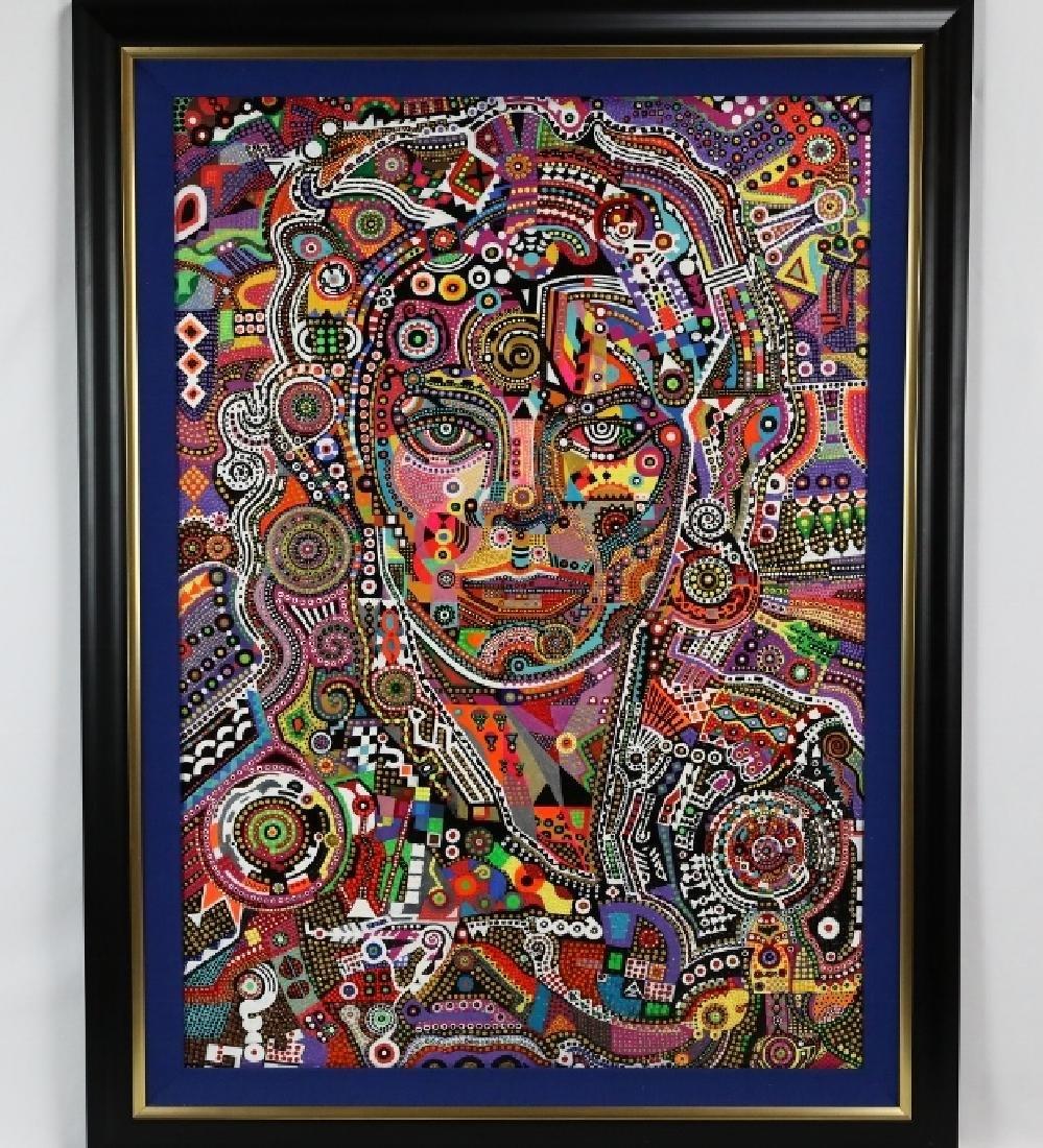 Michael Jackson Painting by Zura W/COA