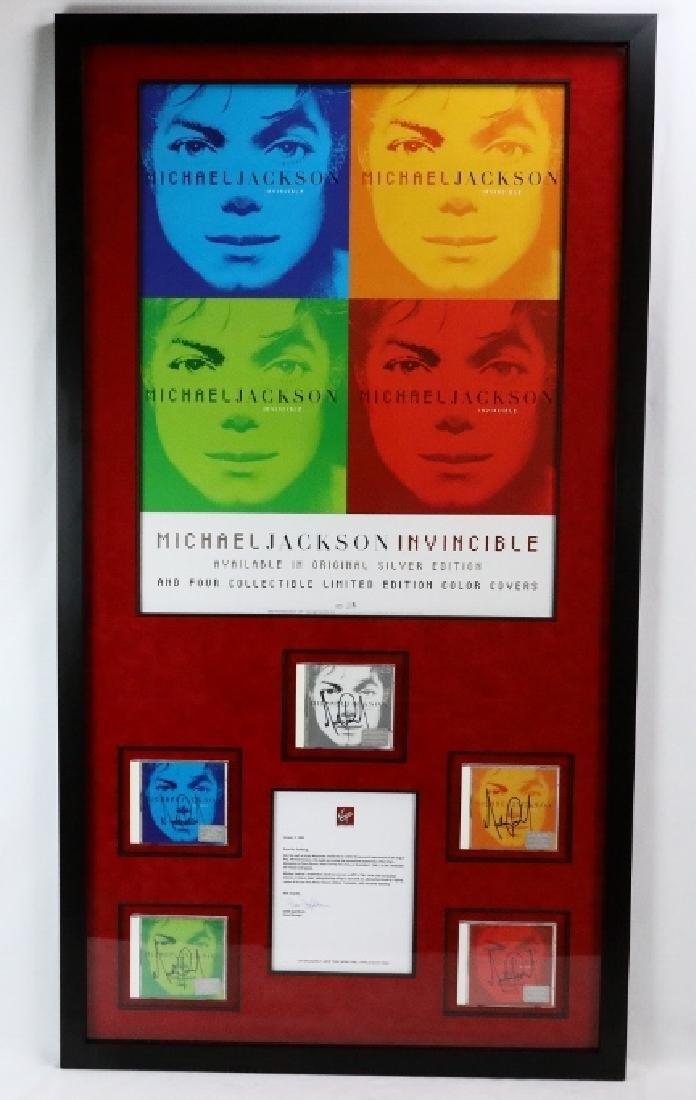 """Michael Jackson Autographed """"Invincible"""" Albums"""