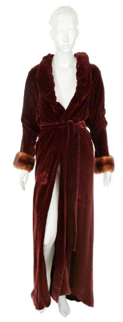 "Lady Gaga's ""American Horror Story: Hotel"" Robe"