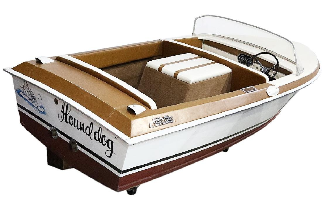 """Hound Dog"" Chris Craft Boat Used By Elvis Presley"